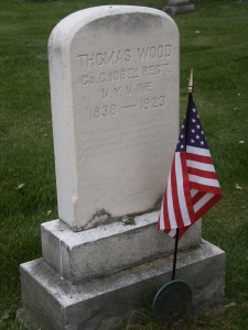 Thomas Wood, 108th New York Volunteer Infantry